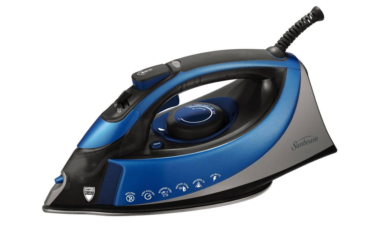 top 10 best steam irons reviews 2017 for home clothes. Black Bedroom Furniture Sets. Home Design Ideas